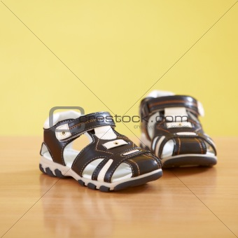 pair of baby shoes