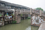 China ancient building in Wuzhen town