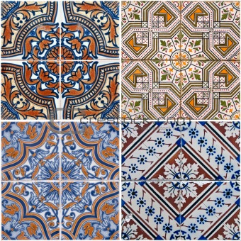 Image 4051928 Vintage Ceramic Tiles From Crestock Stock