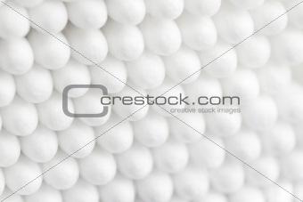 Cotton swabs background