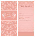 Feast-Invitation, template