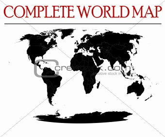complete world map