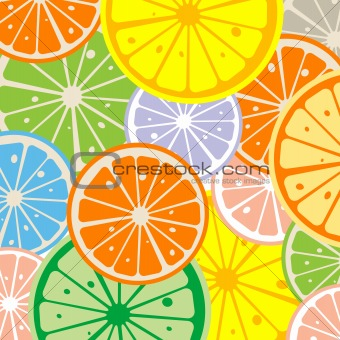 Seamless lemon