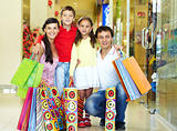 Shopping family