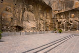 Longmen Grottoes Chiseled Statues