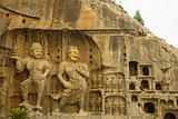 Large Longmen Grottoes Buddhist Carvings