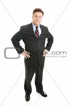 Businessman - Skepticism