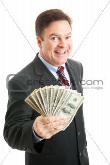 Rich Successful Businessman