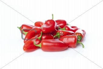 A red baby pepper