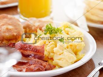 sunny breakfast
