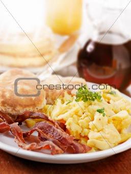 bright huge breakfast