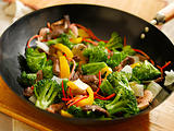 wok stir fry