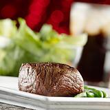 festive steak dinner