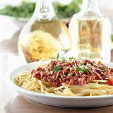 Italian spaghetti dinner