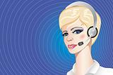 a callcenter operator