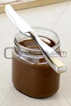 fresh and delicious hazelnut spread