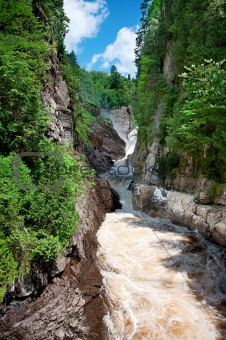 Canyon Ste-Anne, Quebec, Canada