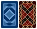 Playing card design.
