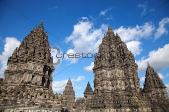 Prambanan hindu temple