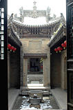 Interior view of an ancient Chinese building