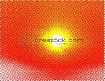 Sun halftone