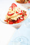 Strawberry and mascarpone tiramisu