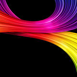 colorful abstract stripes