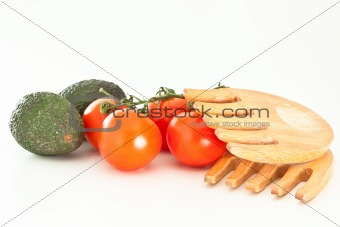 Tomatoes and avodacos
