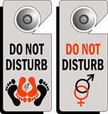 do not disturb logo