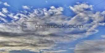 Beautiful bright clouds