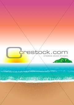 Beach Background 8