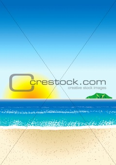Beach Background 3
