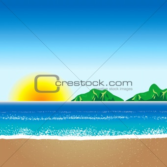 Beach Background 2