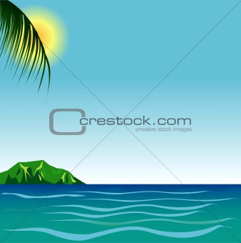 Beach Background 7