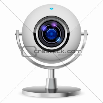 Realistic computer web cam