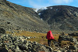 Hiking in Jotunheimen National Park, Norway