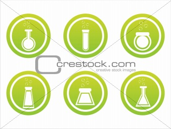 green chemical signs