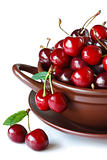 Sweet cherries.