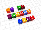 it is school time
