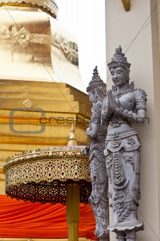 Thai art Statues