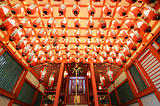Japanese Shrine Interior