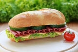 Salami Sandwich