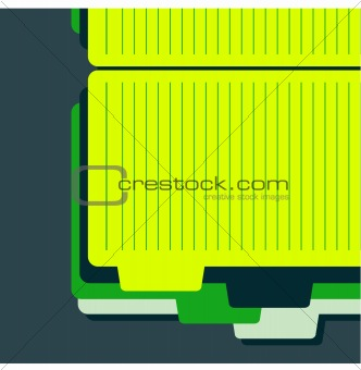 Background of paper sheets template easy to edit