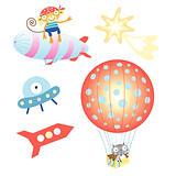balloon and airship