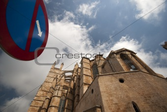 Cathedral in Palma, Mallorca, Spain