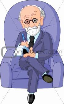 Dr. Freud psychotherapist