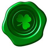 Clover wax seal