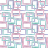 Seamless Background Pattern From Photographs of Pastel Wooden Frames.