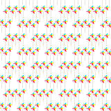 Colorful Pinwheel Seamless Background Pattern