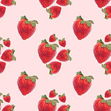 Strawberry Seamless Background Pattern